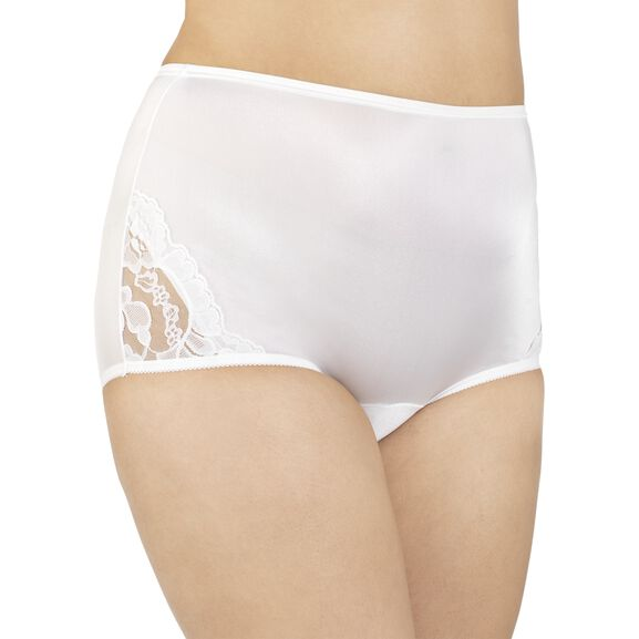 Perfectly YoursLace Nouveau Full Brief Panty Star White