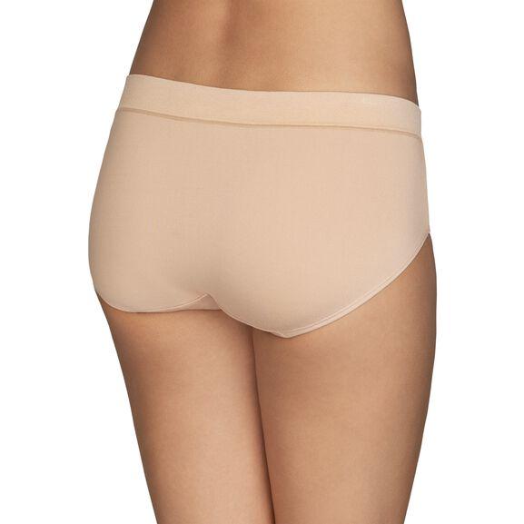 Beyond Comfort® Hipster Panty Damask Netural