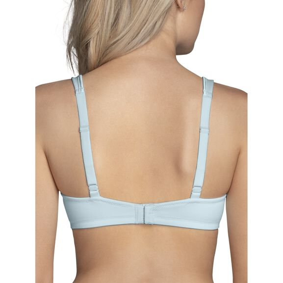 Body Caress Full Coverage Wirefree Bra Clear Water