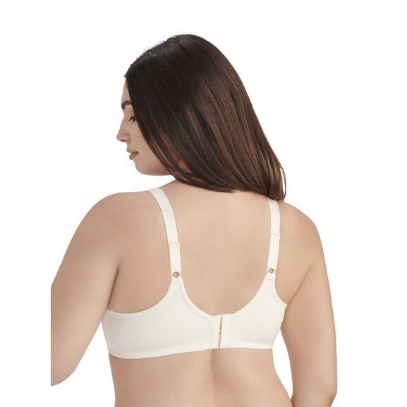 Beauty Back Full Figure Underwire Smoothing Bra Ivory