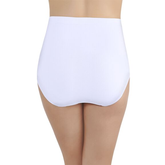 Perfectly Yours Seamless Tailored Full Brief Panty Star White