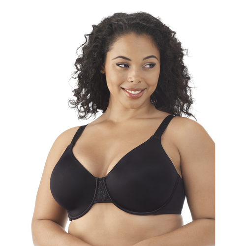 Beauty Back® Minimizer Full Figure Underwire Bra Midnight Black