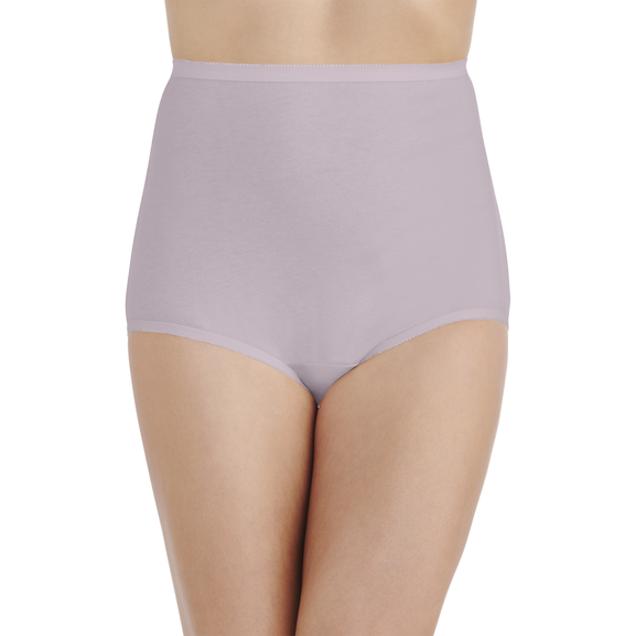 Perfectly Yours® Tailored Cotton Brief Earthy Grey