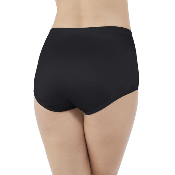Body Caress Brief Panty Midnight Black