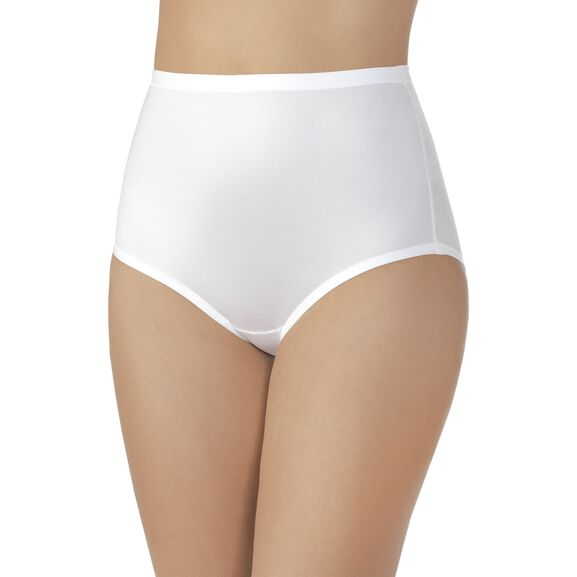 Body Caress Brief Panty Star White