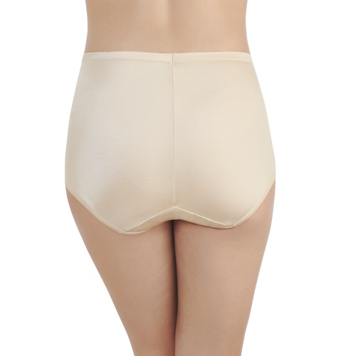 Smoothing Comfort Brief Damask Neutral