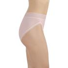 Flattering Lace Hi-Cut Sheer Quartz