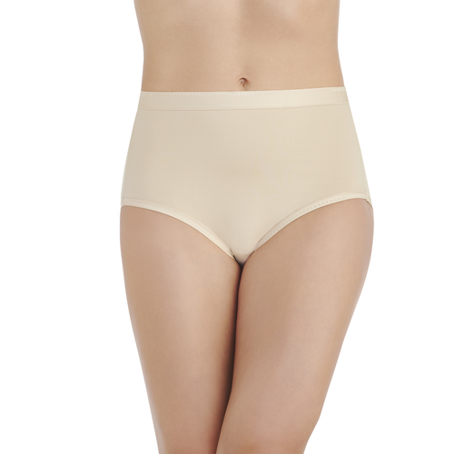 Comfort Where It Counts Brief Damask Neutral