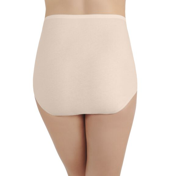 Perfectly Yours Tailored Cotton Full Brief Panty Fawn