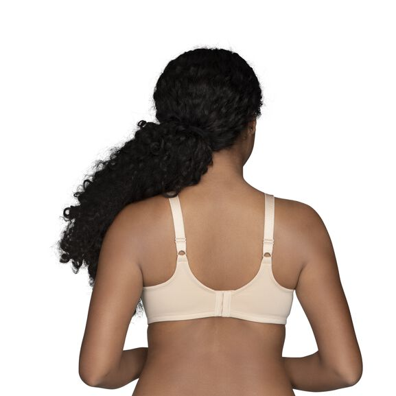 Beauty Back Full Figure Underwire Minimizer Damask Neutral