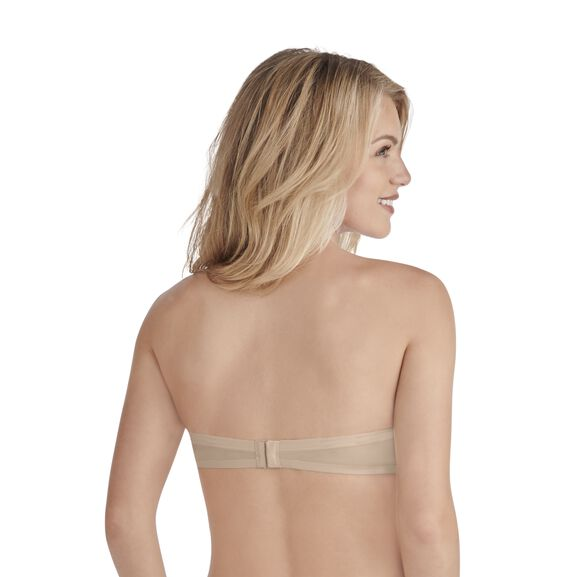 Nearly Invisible Full Coverage Strapless Underwire Bra DAMASK NEUTRAL
