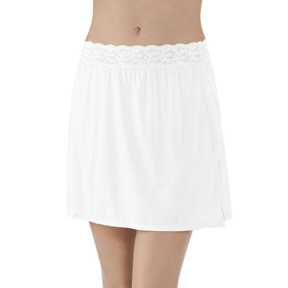 Everyday Layers Half Slip Star White