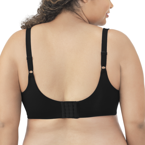 Flattering Lift All Over Lace Full Figure Underwire Midnight Black Rose Beige