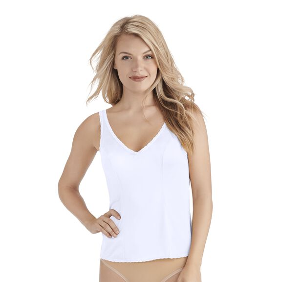 Everyday Layers Traditional Cami Star White