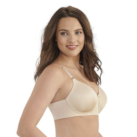 Beauty Back Full Coverage Wirefree Smoothing Bra Damask Neutral