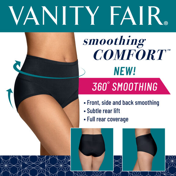 Smoothing Comfort™ 360° Brief Panty Midnight Black