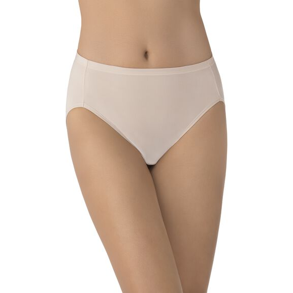Cooling Touch Hi-Cut Panty Rose Beige