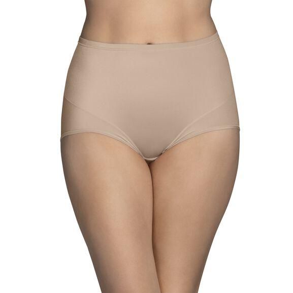 Smoothing Comfort 360° Brief Panty Damask Netural