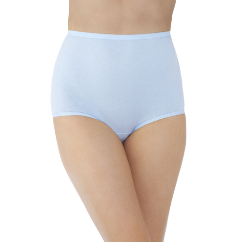 Perfectly Yours® Tailored Cotton Brief Sachet Blue