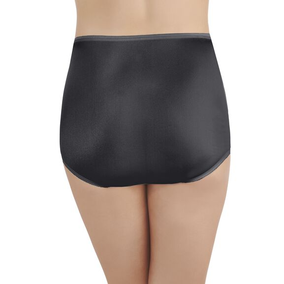 Perfectly Yours Ravissant Tailored Full Brief Panty Midnight Black