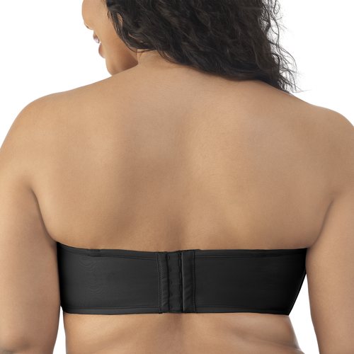 Beauty Back® Strapless Full Figure Underwire Bra Midnight Black