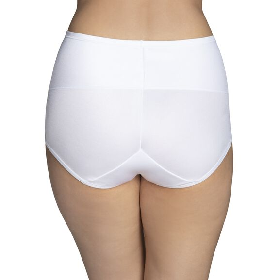 Smoothing Comfort 360° Brief Panty Star White