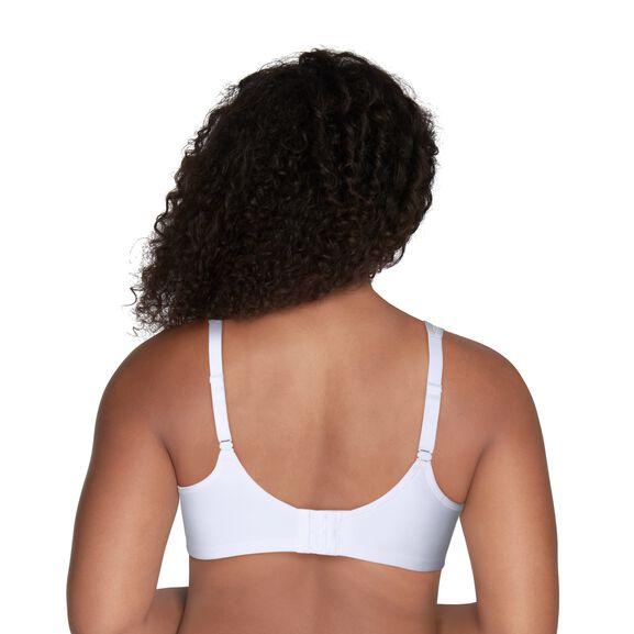 Full Figure Sport Bra Star White