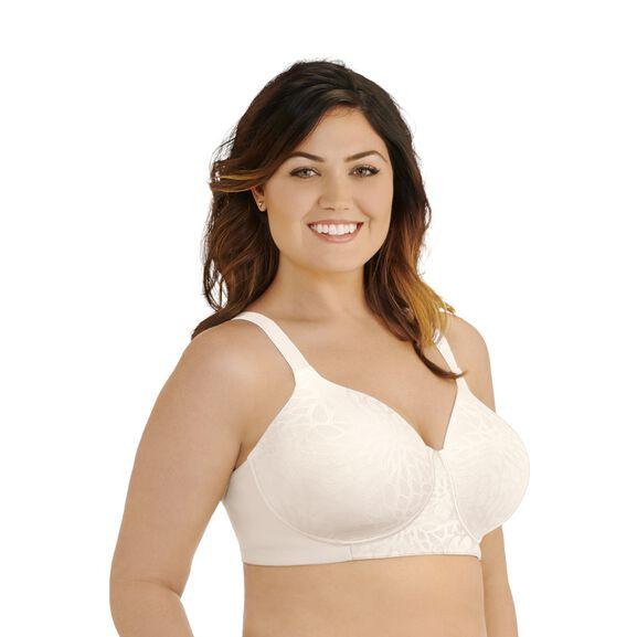 Beauty Back® Full Figure Wirefree Bra Coconut White