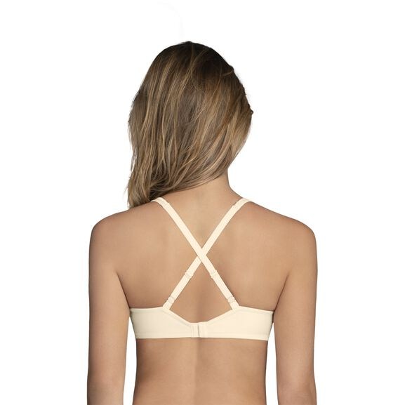Body Caress Full Coverage Underwire Bra Ivory