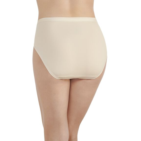 Comfort Where It Counts Hi-Cut Panty Damask Neutral