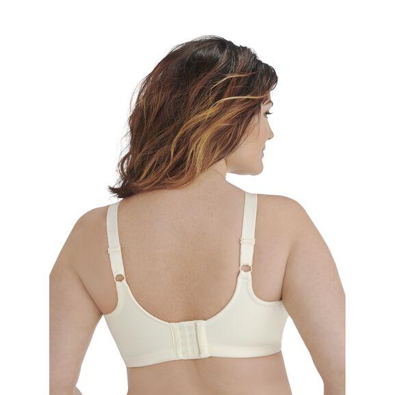 Beauty Back Full Figure Wirefree Smoothing Bra Ivory