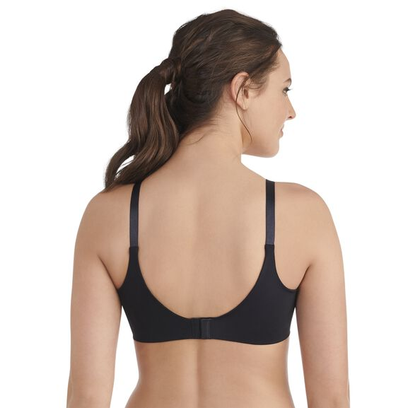 Beauty Back Full Coverage Wirefree Smoothing Bra Midnight Black