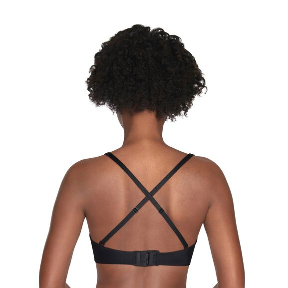 Beauty Back® Strapless Full Coverage Underwire Bra Midnight Black