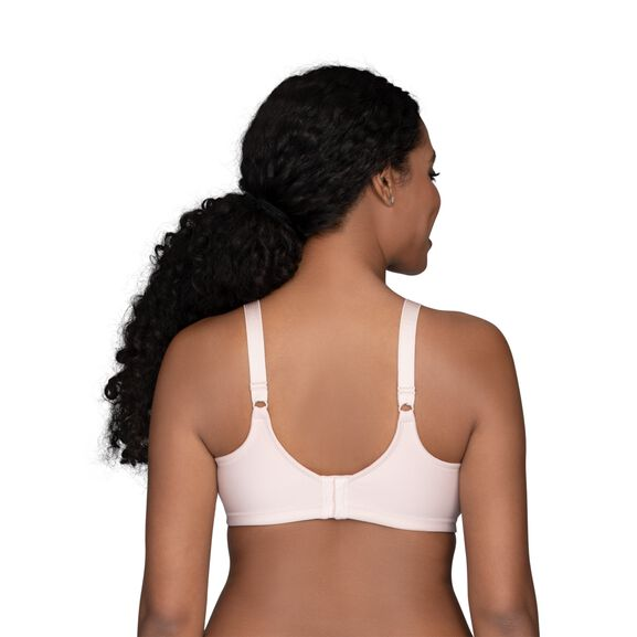 Beauty Back Full Figure Wirefree Smoothing Bra Sheer Quartz