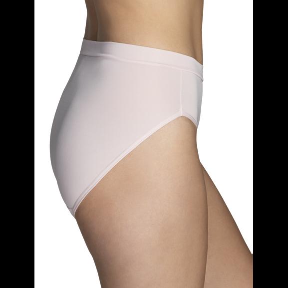 Beyond Comfort Silky Stretch Hi-Cut Sheer Quartz