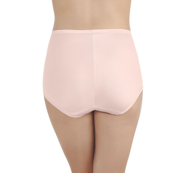 Smoothing Comfort™ Brief Panty with Lace Champagne