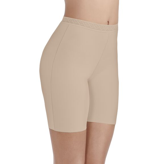 Sleek and Smooth Slip Short DAMASK NEUTRAL