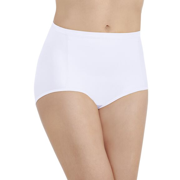Smoothing Comfort Brief Panty Star White