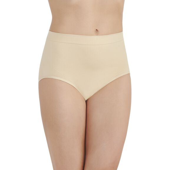 Smoothing Comfort™ Seamless Brief Panty Damask Neutral