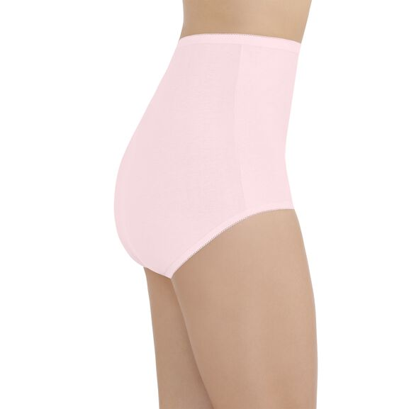 Perfectly Yours® Tailored Cotton Full Brief Panty Ballet Pink