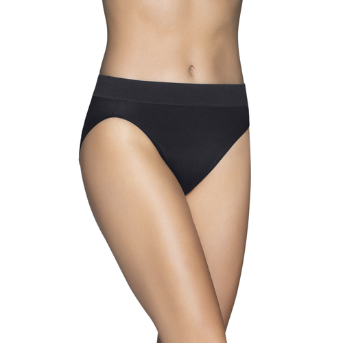 Beyond Comfort Hi-Cut Panty Midnight Black
