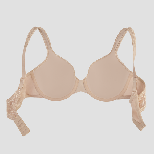 Body Shine Full Coverage Underwire Honey Beige Jacquard