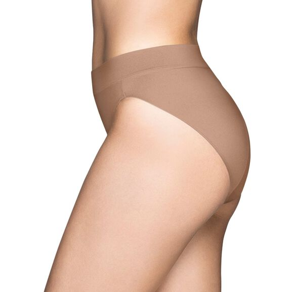 Beyond Comfort Seamless Waistband - Hi-Cut Honey Beige