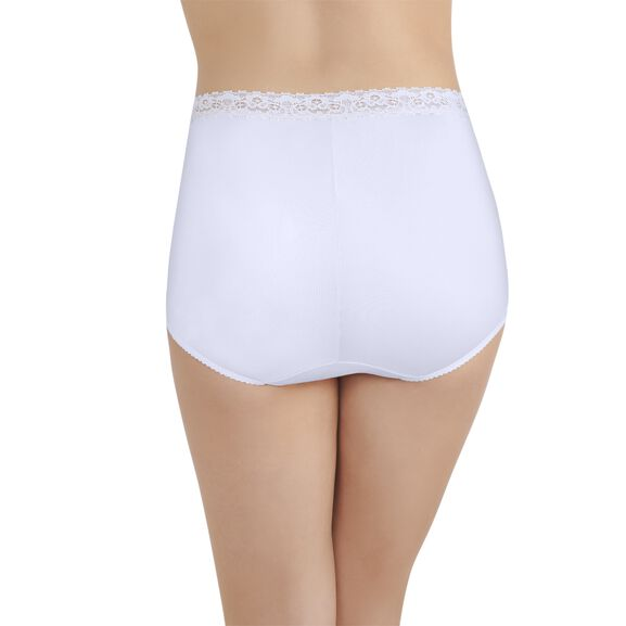 Perfectly Yours Lace Full Brief Panty Star White