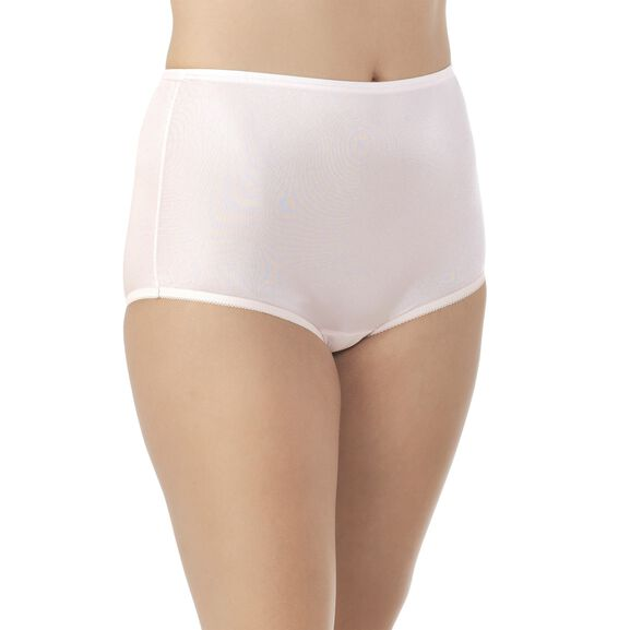 Perfectly Yours® Ravissant Tailored Full Brief Panty Blushing Pink