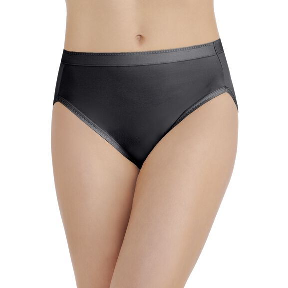 Comfort Where It Counts Hi-Cut Panty Midnight Black