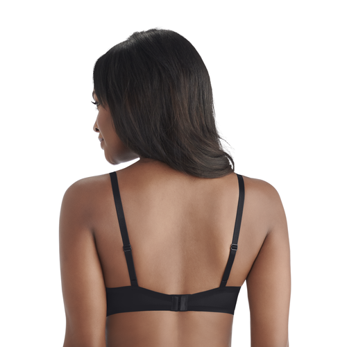 Nearly Invisible™ Full Coverage Underwire Bra MIDNIGHT BLACK