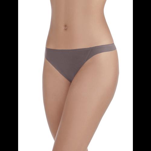 Nearly Invisible™ Thong Panty DEEP MAUVE