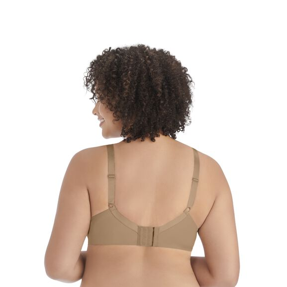 Nearly Invisible Full Figure Wirefree Bra TOTALLY TAN