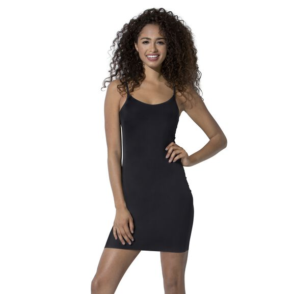 Everyday Layers Sleek and Smooth Full Slip Midnight Black